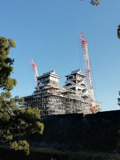 熊本城 天守閣 2020年1月撮影