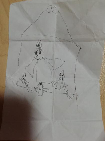 子供作 熊本城 加藤清正 イラスト