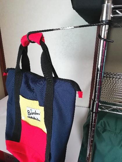 DAISO ランタンハンガー ランタンフック リュック バッグ