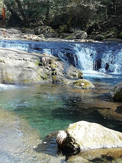 菊池渓谷 渓流 画像 写真 美しい 熊本県