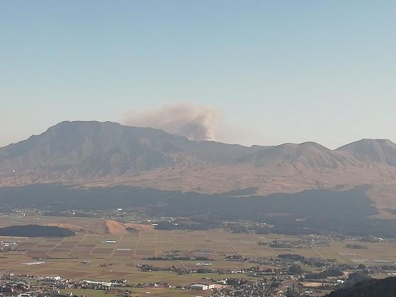 阿蘇山 噴火 画像 写真 2020年2月