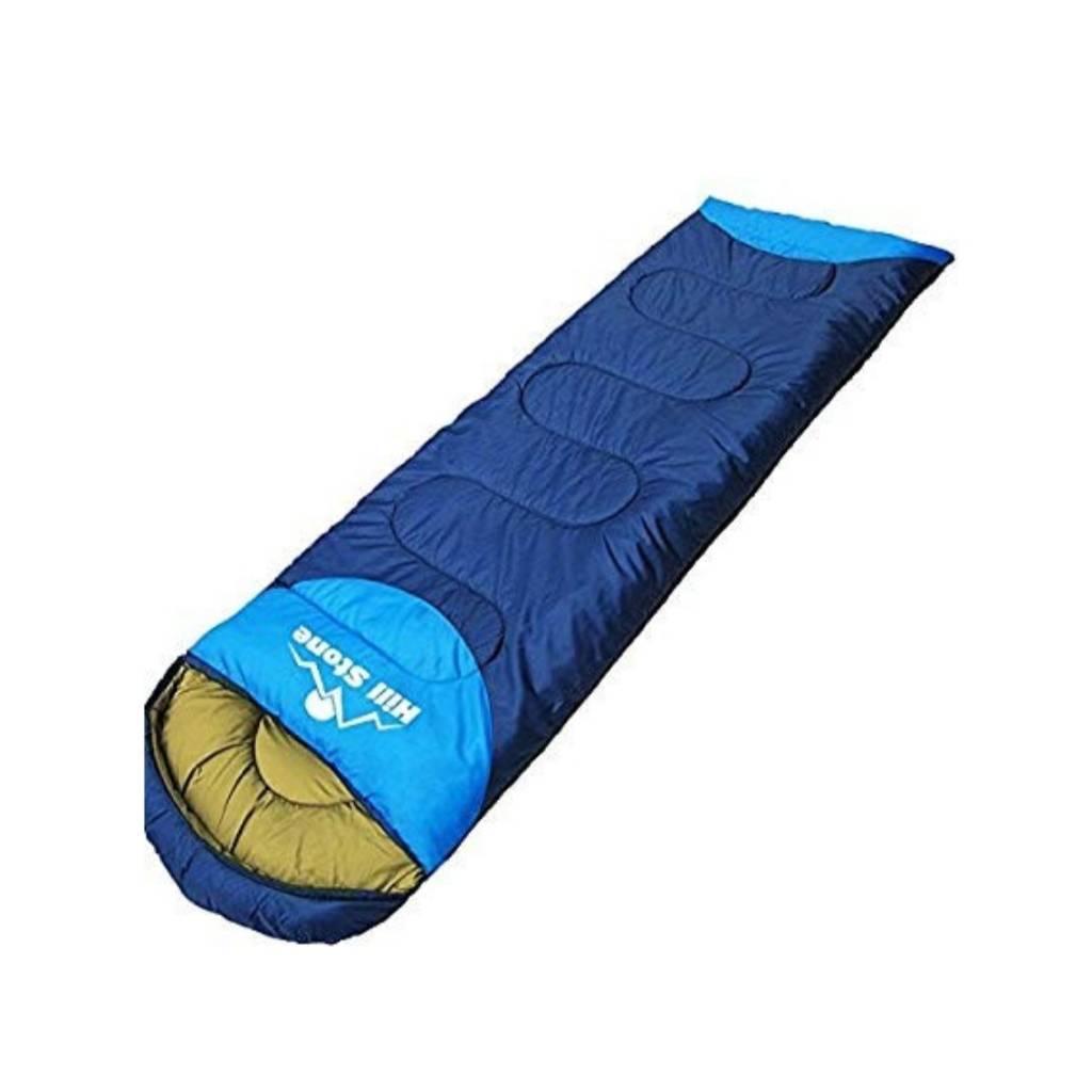 Hill Stone 1.95㎏ 寝袋 キャンプ ブルー