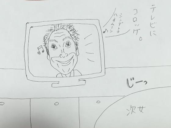 イラスト コロッケ モノマネ 画像 テレビ シンデレラハネムーン 岩崎宏美