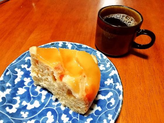 リンゴケーキ ホットケーキミックス 炊飯器 簡単 画像 リンゴ コーヒー 手作り