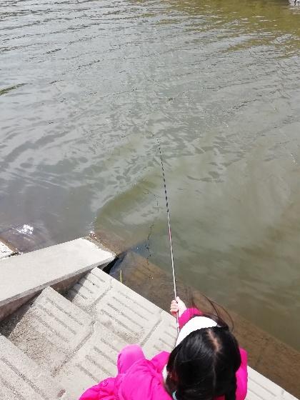 クリーク 釣り 子供 フナ ニゴイ 写真 画像