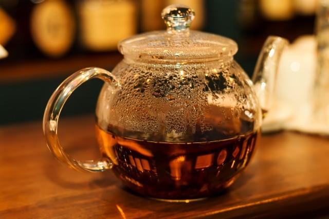 紅茶 カフェ ティータイム 画像 写真