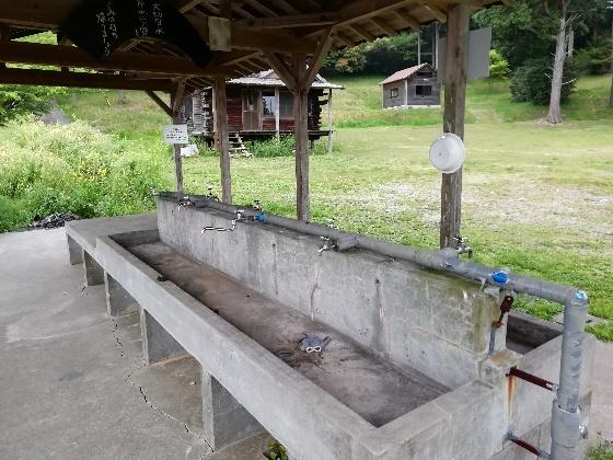 お牧山キャンプ場 公園 画像 写真 炊事棟 福岡県みやま市