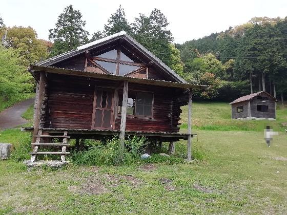 お牧山キャンプ場 公園 画像 写真 バンガロー 3号棟 福岡県みやま市