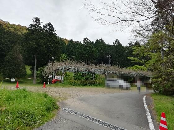 お牧山キャンプ場 公園 画像 写真 入口 正面 フリーサイト 福岡県みやま市