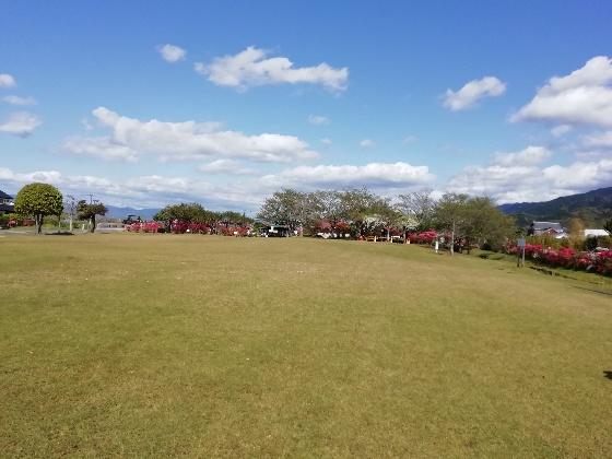 久留米ふれあい農業公園キャンプ場 芝生 フリーサイト ふれあい広場 写真 画像 福岡県久留米市