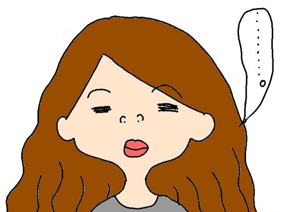 沈黙 面白い イラスト 画像 漫画 女性