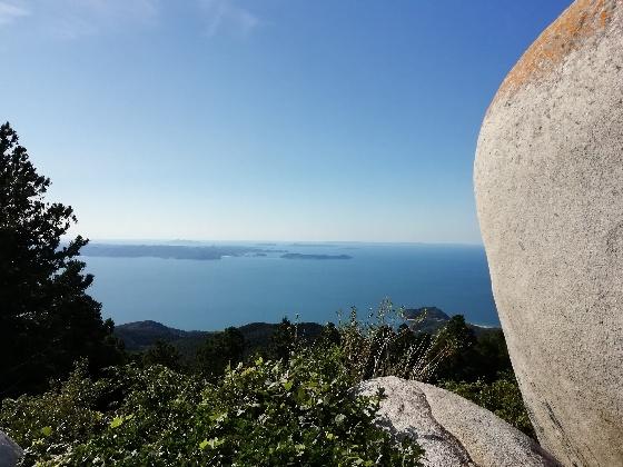十坊山登山 中村登山口 登山 福岡県 画像 写真 背振 山頂 景色