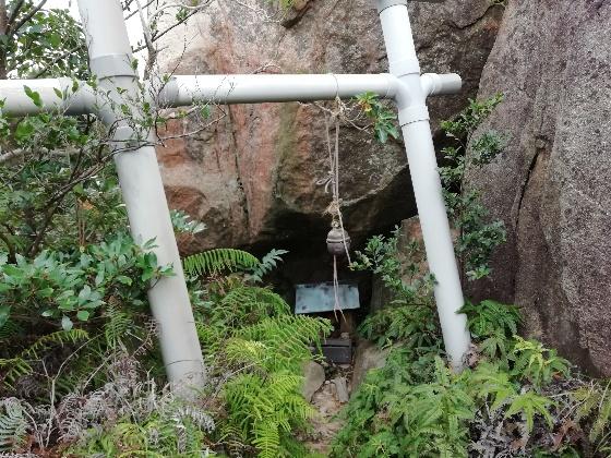 鳥居 立石山 登山 岩 社 写真 画像 糸島