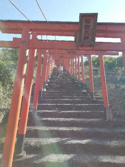 浮羽稲荷神社 浮羽神社 福岡県 インスタ映えスポット 写真 画像 鳥居 階段