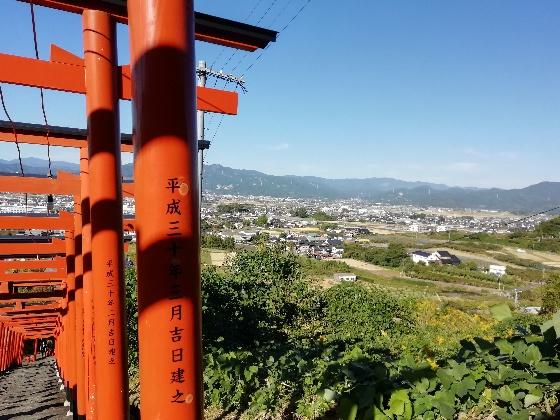 浮羽神社 浮羽稲荷神社 福岡県 鳥居 階段 写真 画像 インスタ映えスポット