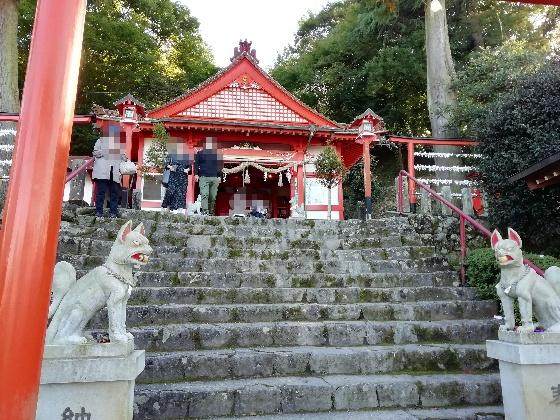 浮羽神社 浮羽稲荷神社 福岡県 鳥居 階段 写真 画像 インスタ映えスポット 境内 参拝