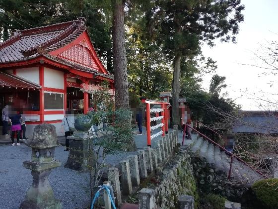 浮羽神社 浮羽稲荷神社 福岡県 鳥居 階段 写真 画像 インスタ映えスポット 参拝 境内