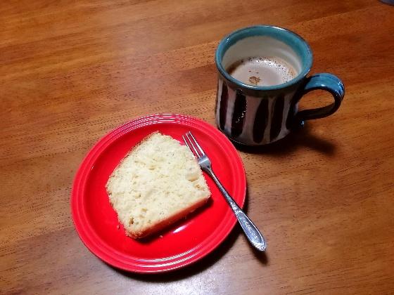 りんごのパウンドケーキ りんご パウンドケーキ 簡単 ホットケーキミックス コーヒー おいしい 画像 写真