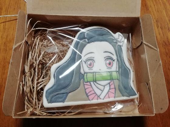 鬼滅の刃 禰豆子 クッキー 写真 イラスト かわいい 画像