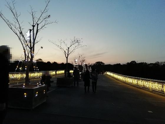 吉野ヶ里歴史公園 2020 入園 画像 写真 入場ゲート 光の響 イベント 光の橋