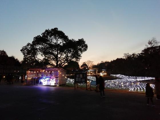 吉野ヶ里歴史公園 2020 入園 画像 写真 入場ゲート 光の響 イベント