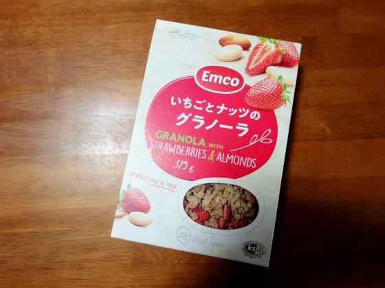 イチゴとナッツのグラノーラ 業務スーパー 写真 画像 シリアル 神戸物産