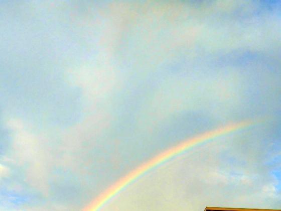 虹 美しい きれい 写真 画像 くっきり