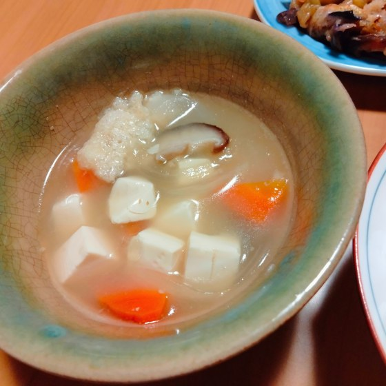 味噌汁 アート 豆腐 面白い 顔 写真 画像 かわいい