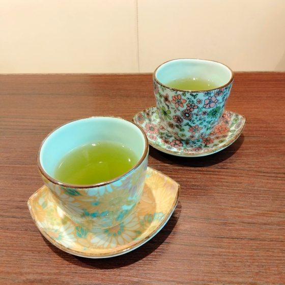 緑茶 湯呑 かわいい おしゃれ お茶屋さん 和カフェ 写真 画像