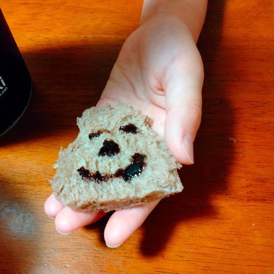 ホームベーカリー ココアパン チョコパン アレンジ かわいい 顔 イラスト 写真 画像