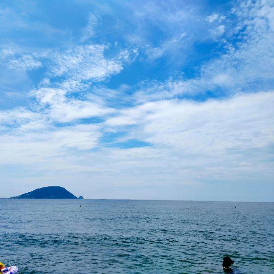 海 海水浴 志賀島 写真 画像