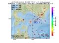 地震震源マップ:2017年01月06日 04時40分 苫小牧沖 M3.1