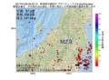 地震震源マップ:2017年01月06日 06時40分 新潟県中越地方 M2.9