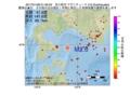 地震震源マップ:2017年01月08日 01時56分 苫小牧沖 M2.6