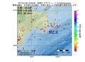 地震震源マップ:2017年01月08日 19時09分 釧路沖 M2.8