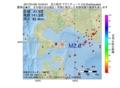 地震震源マップ:2017年01月09日 10時54分 苫小牧沖 M2.6