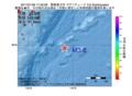 地震震源マップ:2017年01月09日 17時30分 関東東方沖 M3.6