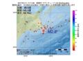 地震震源マップ:2017年01月11日 17時11分 釧路沖 M2.8