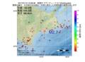 地震震源マップ:2017年01月12日 10時08分 釧路沖 M2.7