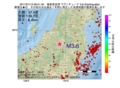 地震震源マップ:2017年01月13日 08時41分 福島県会津 M3.6