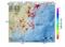 地震震源マップ:2017年01月17日 10時57分 千葉県東方沖 M3.0