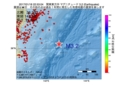 地震震源マップ:2017年01月18日 22時53分 関東東方沖 M3.2