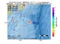 地震震源マップ:2017年01月20日 13時12分 関東東方沖 M3.4