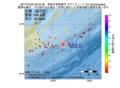 地震震源マップ:2017年01月22日 02時54分 根室半島南東沖 M3.0