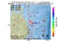 地震震源マップ:2017年01月22日 05時37分 岩手県沖 M3.5
