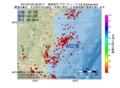 地震震源マップ:2017年01月22日 06時23分 福島県沖 M2.8