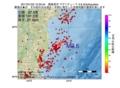 地震震源マップ:2017年01月22日 10時35分 福島県沖 M2.6