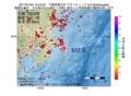 地震震源マップ:2017年01月22日 10時44分 千葉県東方沖 M2.6