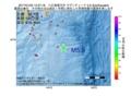 地震震源マップ:2017年01月22日 13時37分 八丈島東方沖 M5.9