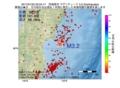 地震震源マップ:2017年01月22日 20時24分 宮城県沖 M3.2